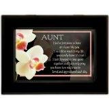 Aunt Matte Black Music Box / Jewelry Box Plays You Light Up My Life