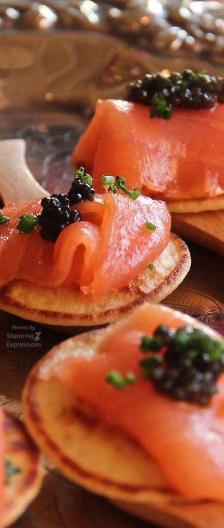 Salmon & Caviar