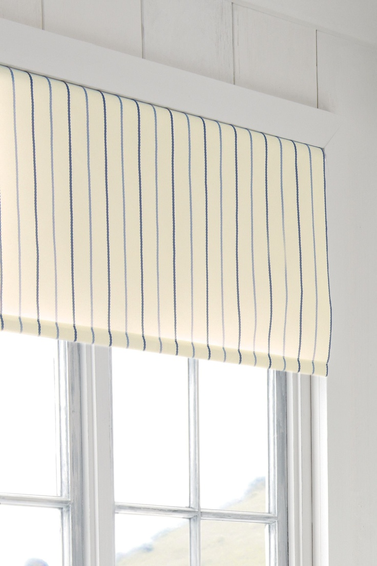 Products rollers in vogue blinds - Blue Stripe Roller Blind
