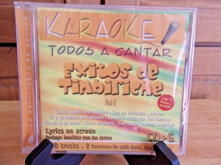 Karaoke Todos A Cantar Exitos de Timbiriche Vol 2 KAR 3044 #PopRock1980s