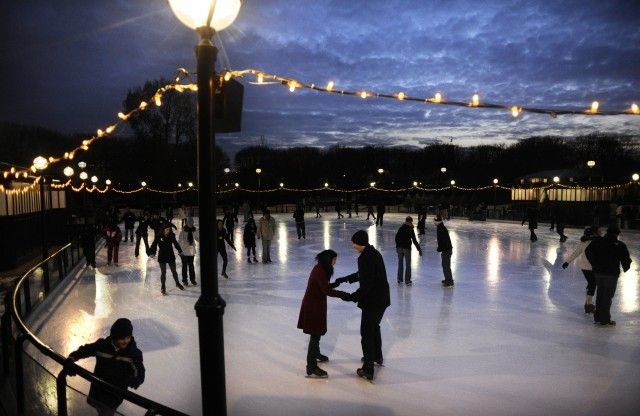 Ice skating at the National Gallery of Art, Washington DC and jazz in the sculpture garden in the warmer months. http://www.nga.gov/content/ngaweb.html #washingtondc #wanderlustingtravel