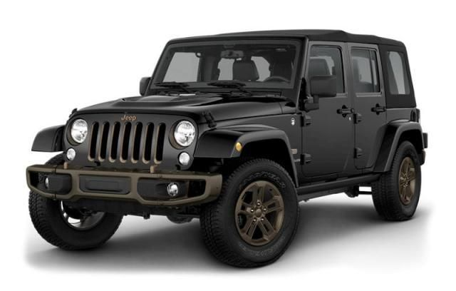 New 2017 Jeep Wrangler Unlimited 75th Anniversary Edition For Sale