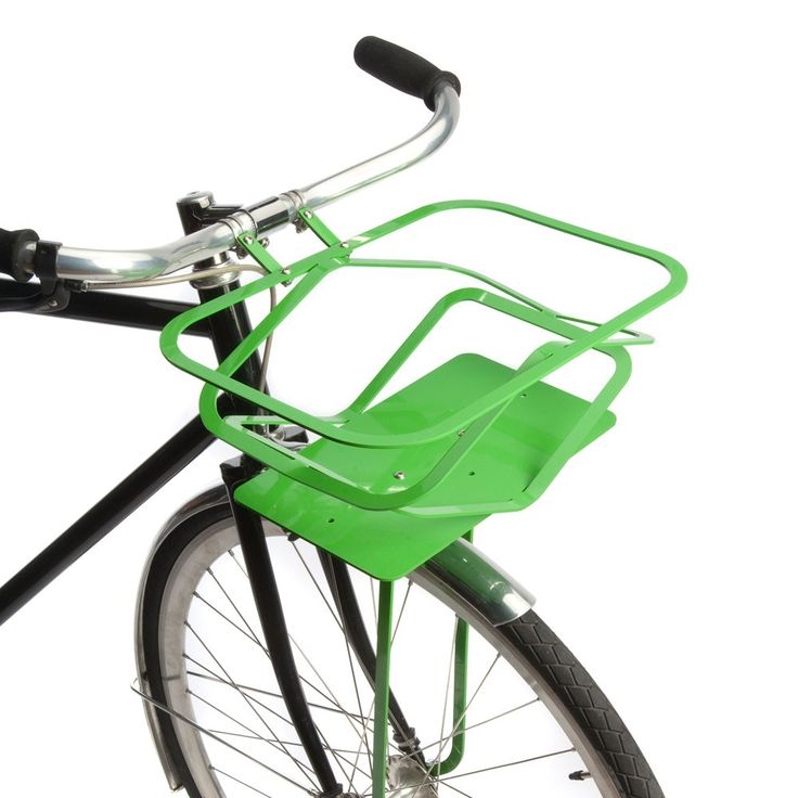 Pop-Up Bike Basket