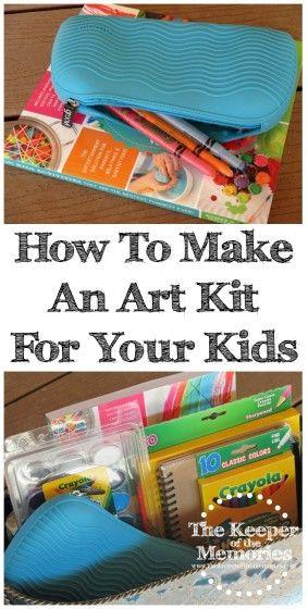 Art Kit For Kids - Pinterest