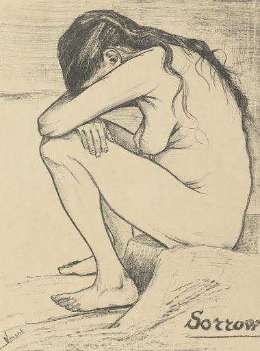 Sorrow, 1882, Vincent van Gogh, Van Gogh Museum, Amsterdam (Vincent van Gogh Foundation).