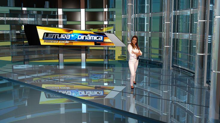 Virtual Set - RedeTV! Brazilian Network