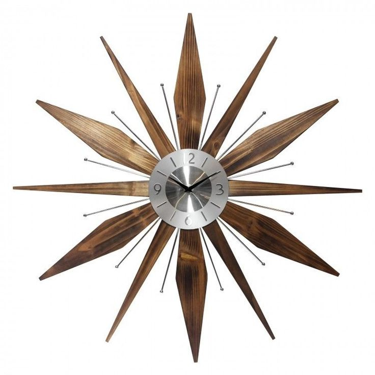 #Modern #Wall #Clock #MidCentury #Burst #Retro #Art #Deco Large #Vintage Wall Clocks New #Infinity #Modern #ShoppingOnlineDeals #DanAnnStore #Buyablepins #Follow #Buy #Kitchen