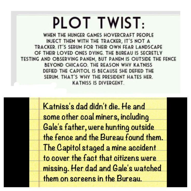 Hunger Games/Divergent Plot Twist