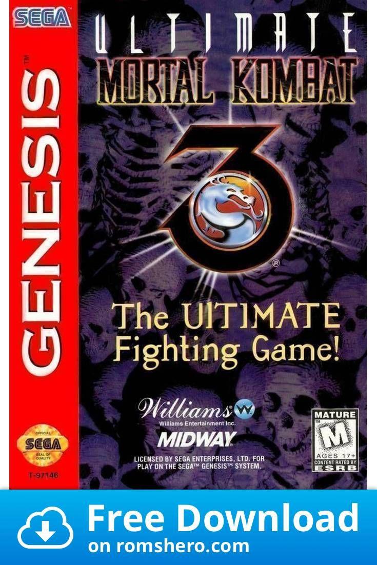 Download Ultimate Mortal Kombat 3 Sega Genesis Sega Mega Drive