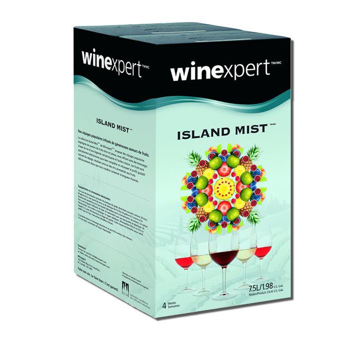 Exotic Fruits White Zinfandel Island Mist Premium 7.5L Kit |Bulk Apothecary Wine Making Supplies