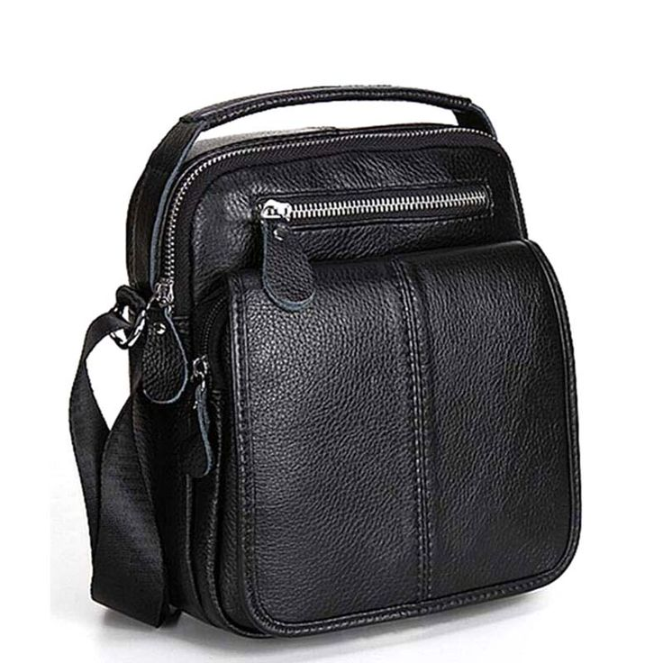 Genuine Leather Bag Natural Cowskin Vintage Men's Cowhide Shoulder Crossbody Bag Check it out! #shop #beauty #Woman's fashion #Products #homemade