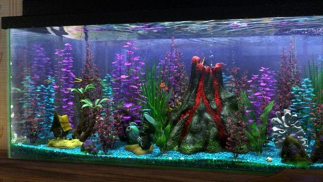 Deko Fur Aquarium Selber Machen 30 Kreative Ideen Finding Nemo Aquarium Betta Aquarium Aquarium Fische