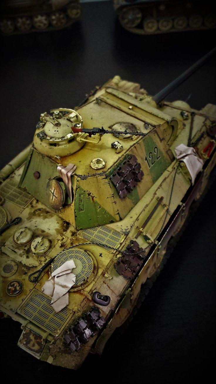 Panter Ausf. A 1/35 De dragon