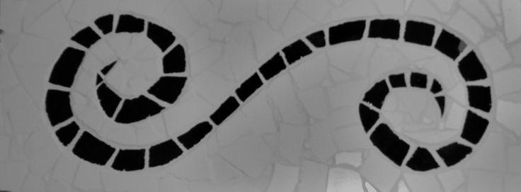 Mosaik spirale