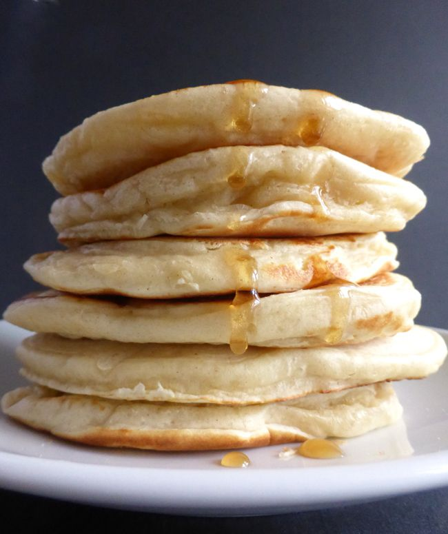 A recipe for traditional drop scones or scotch pancakes - enjoy them for breakfast or as a treat at teatime with jam and hot chocolate.