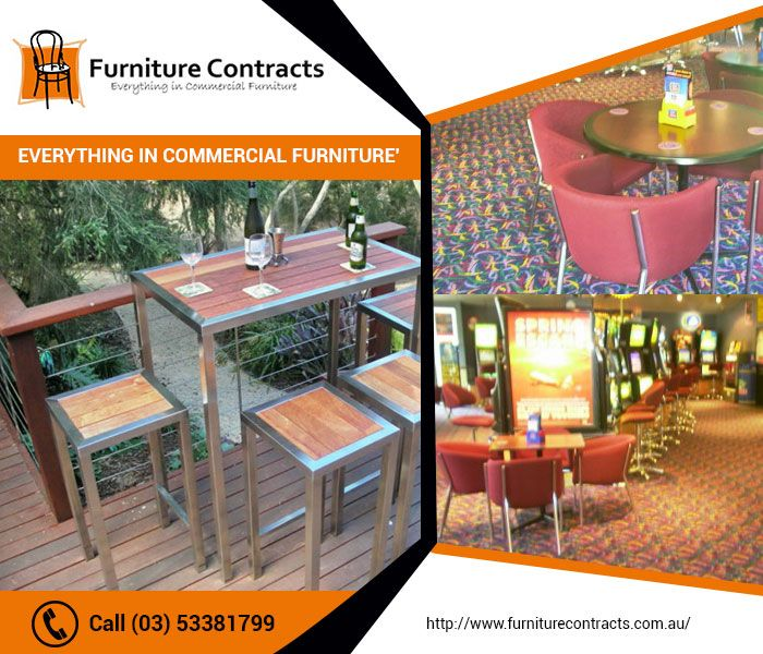 Make your settings more comfortable with the exclusive range of furniture in Ballarat that we offer. We, Furniture Contracts Ballarat, are the most prolific furniture supplier of tables, chairs, bar stools, cupboards, desks and sofas and many more. From healthcare furniture to cafe restaurant furniture to school furniture, we can provide you with everything. Get in touch with us to know more!