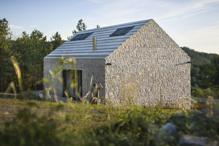 compact karst house / Dekleva Gregoric Arhitekti – nowoczesna STODOŁA | wnętrza & DESIGN | projekty DOMÓW | dom STODOŁA