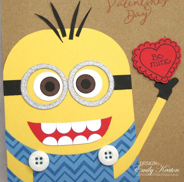 107 best Minions images on Pinterest  3d craft Birth day and