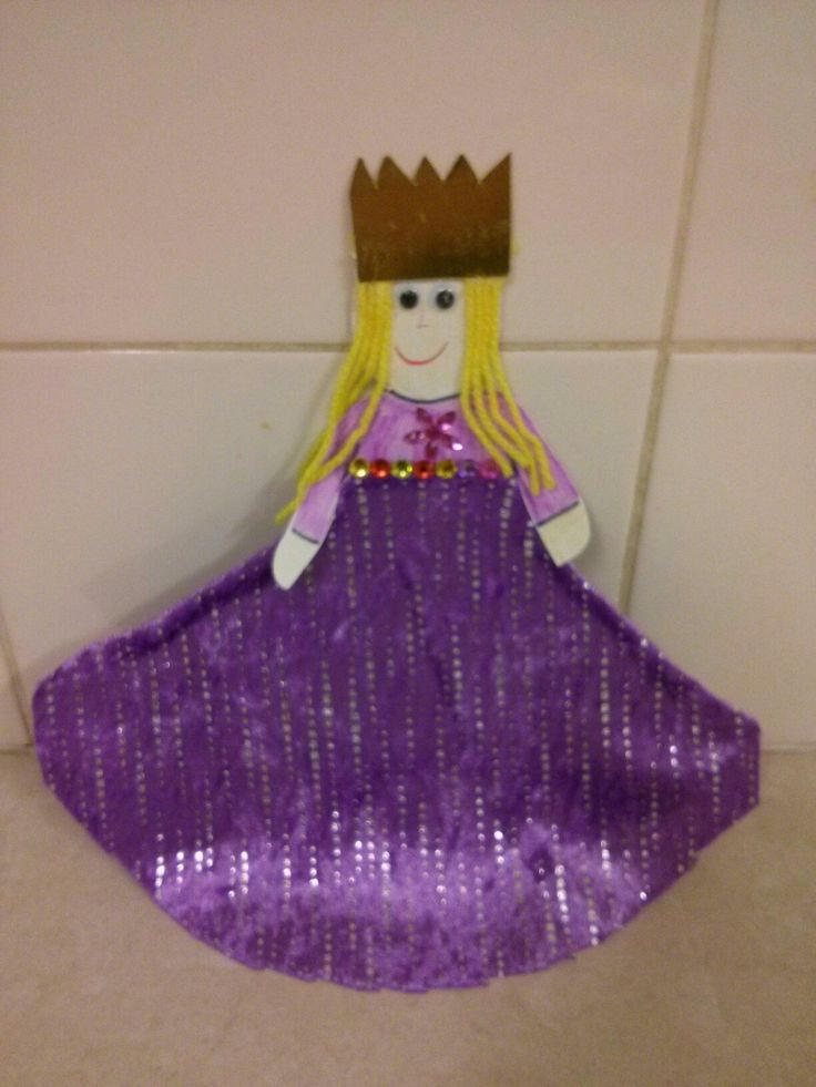 Lesson 37 Esther becomes queen. This was made out of a paper plate. The children enjoyed sticking the crown on and the pretty jewels