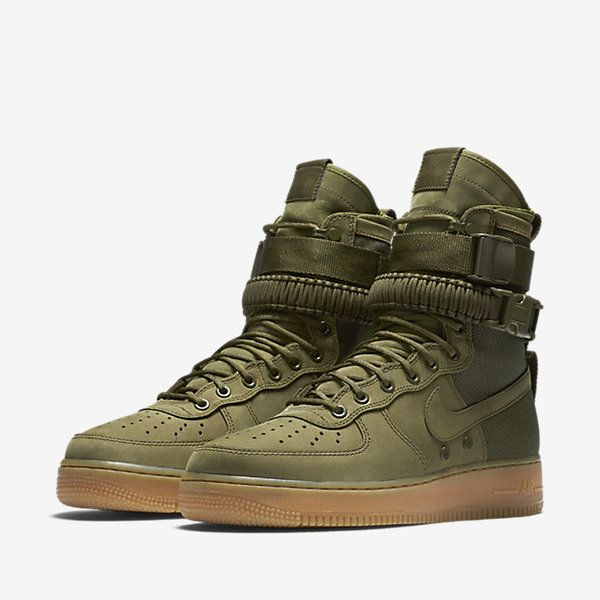 air force one mujer olive