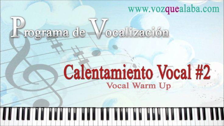 Programa de Vocalización / Calentamiento Vocal #2 - http://dietasparabajardepesos.com/blog/programa-de-vocalizacion-calentamiento-vocal-2/