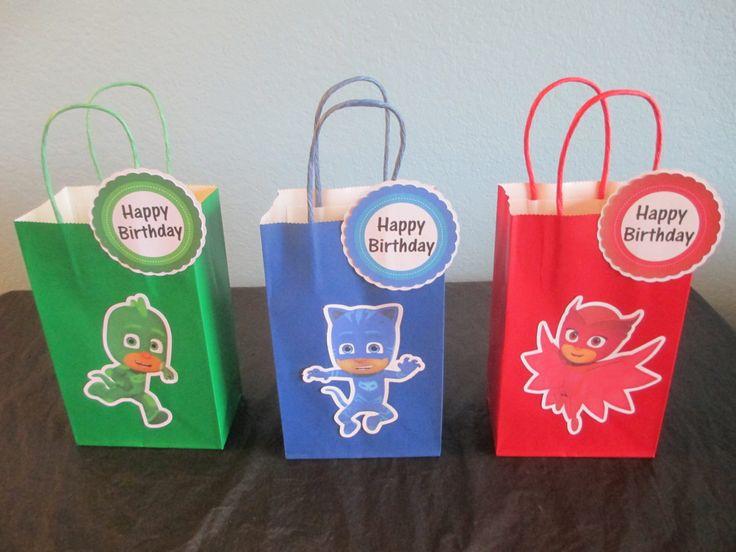 PJ Masks goody bags10pj masks favor bagspj masks by BehindTheTheme