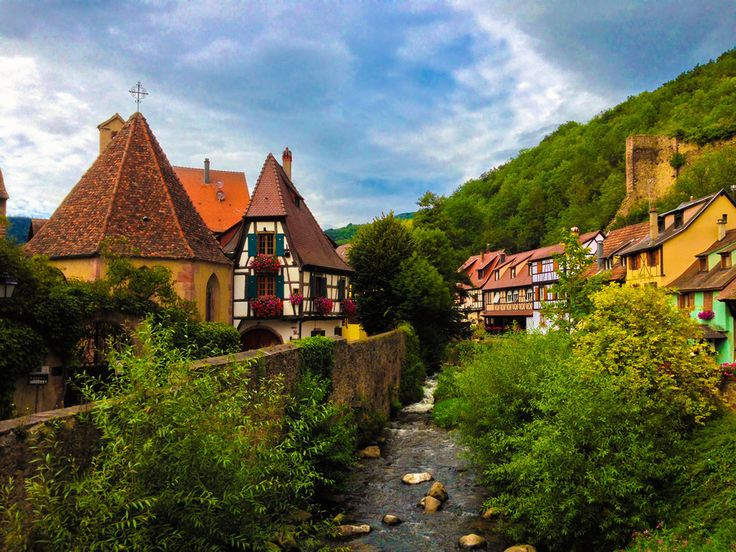 Kaysersberg, Alsace   28 French Places That Are Straight Out Of A Fairy Tale <3