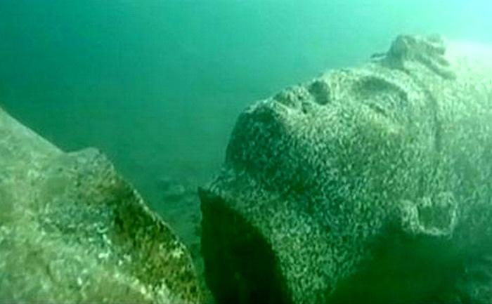 اكتشاف مدينة مصرية غرقت بأعماق المتوسط