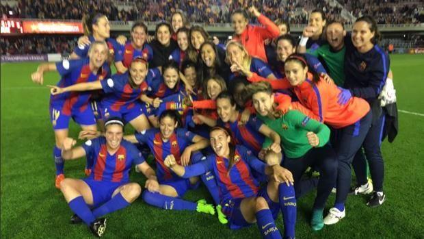 El Barça femenino, primer equipo español en las semifinales de la Champions http://www.abc.es/deportes/futbol/abci-barca-femenino-primer-equipo-espanol-semifinales-champions-201703292109_noticia.html