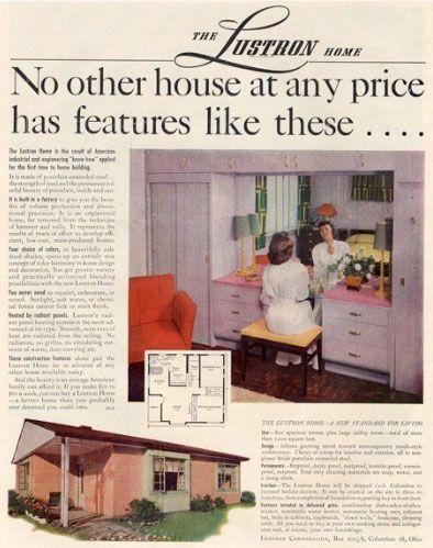 Lustron Postwar Prefab Homes