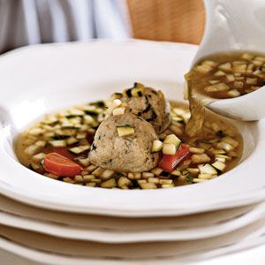 Chicken Soup with Matzo Balls | MyRecipes.com