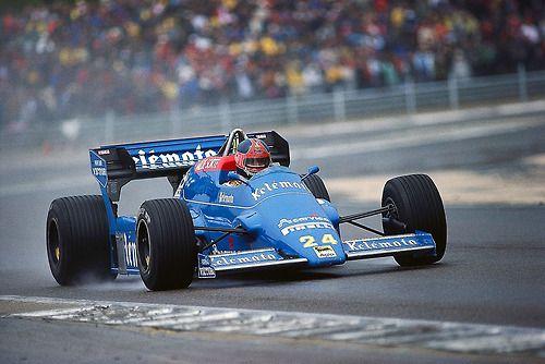 Piercarlo Ghinzani Osella - Alfa Romeo 1984
