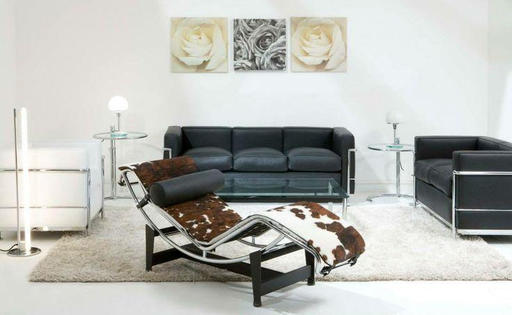 sessel und sofas und liege von le corbusier bauhausm bel bauhaus furniture pinterest le. Black Bedroom Furniture Sets. Home Design Ideas