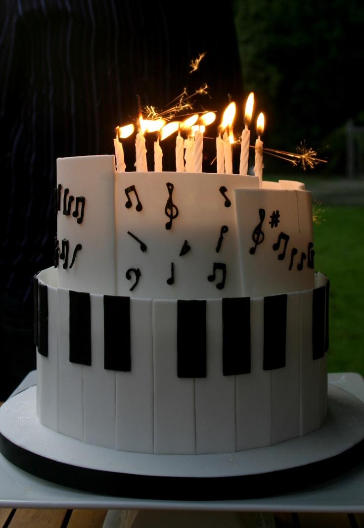 The Birthday Cake Piano