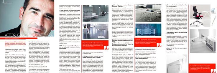 DAYSIGN entrevista , en su último nº del Daysignmagazine , al diseñador industrial Aitor Garcia de Vicuña , de AGVestudio