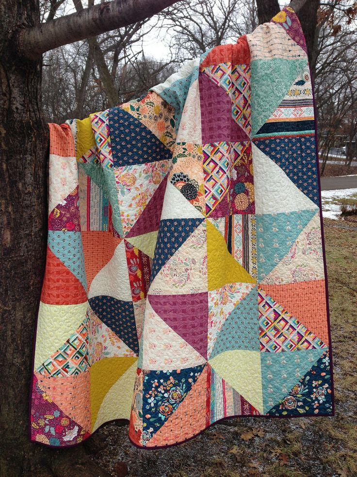 Fleet & Flourish Quilt -- Amanda Jean | by maureencracknell