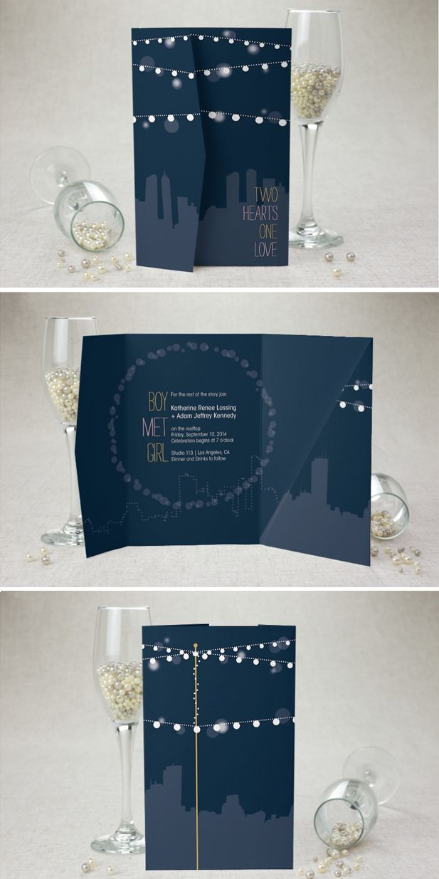 Rooftop Party by MagnetStreet | http://www.magnetstreet.com/wedding-sale-517