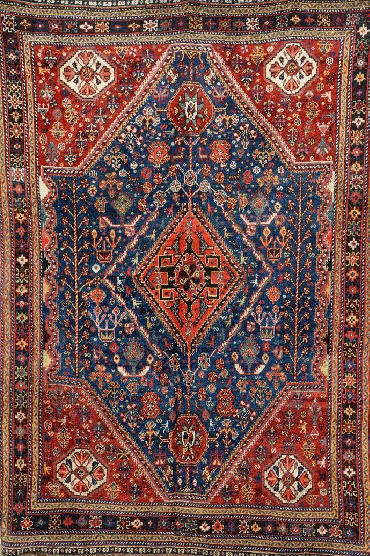 Chamseh,, Chamseh, Persia, circa 1900, wool/wool, approx. 217 x 154 cm