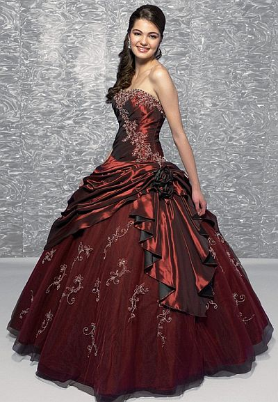 Allure Bridals Quinceanera Ball Gown Q166