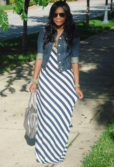 vestidos largos casuales - Buscar con Google