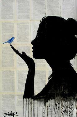 Saatchi Online Artist Loui Jover; Drawing, harmony art