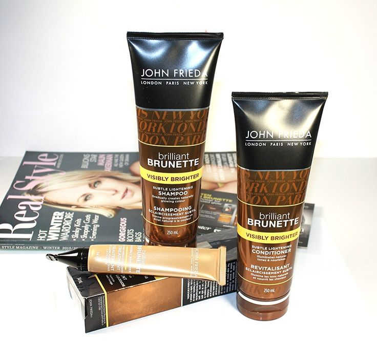 Visibly Brighter Hair with John Frieda
