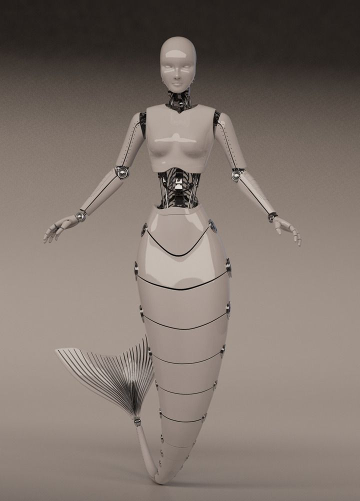Robot Mermaid - YUCHIA