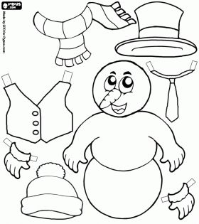 20 best Winter Coloring Page images on Pinterest Colouring pages
