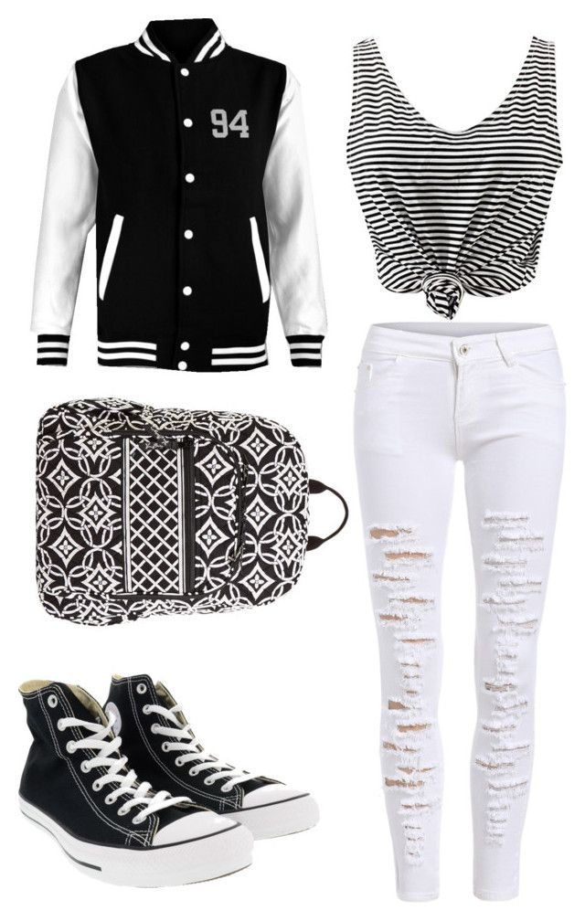 Salt & Peppa by timetravelingfashionistas on Polyvore featuring polyvore, fashion, style, Converse, Vera Bradley and clothing
