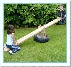 Giochi in giardino fai da te!