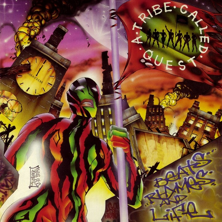 A Tribe Called Quest - Beats, Rhymes and Life (1996). Yes, the Tribe continued to make the purest and most head-nodding hip hop ever.