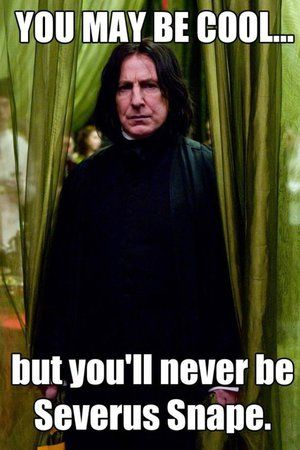 Severus Snape Kissing | Severus Snape Smiling Snape's birthday wish: