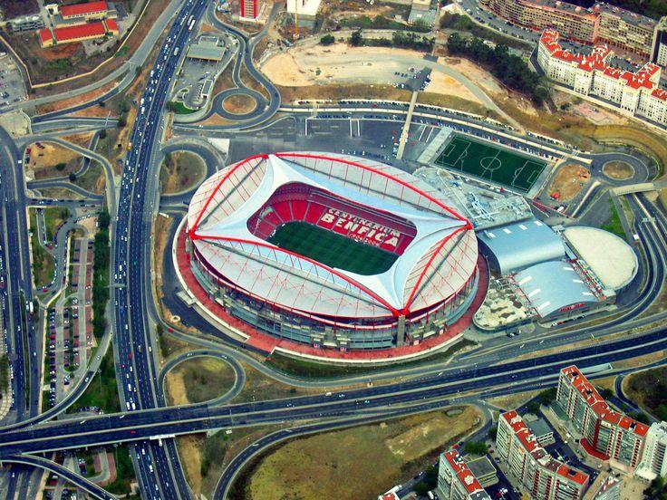 FC Benfica Estádio da Luz  Capacity: 65.647