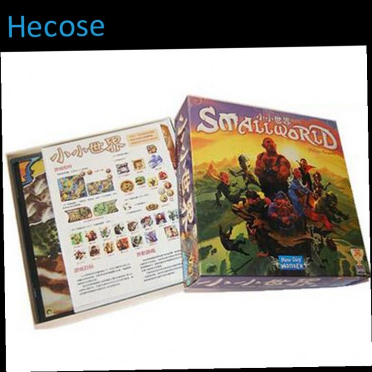 42.50$  Watch now - http://ali99o.worldwells.pw/go.php?t=32636837149 - board game small world high quality, very suitable for the children, family game 42.50$